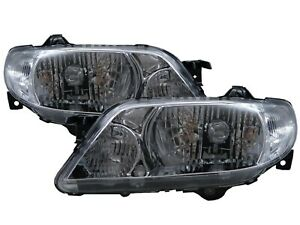 Protege Bj Mk8 01 03 Facelift 4d 5d Clear Headlight Chrome For Mazda Lhd