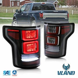 Full Led Sequential Tail Lights For Ford F150 2015 2020 Rear Lamps Assembly R l