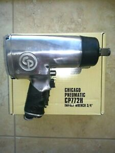 Chicago Pneumatic 772h 3 4 Drive Pistol Grip Style Impact Wrench New In Cp Box