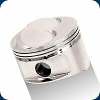 Je 182024 Piston Set 400 428 Chevy Forged Pistons Set Of 8 4 125 6 1cc Dome