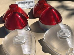 New Replacement 1953 Chevrolet Bel Air 150 And 210 Tail Light Lens Set