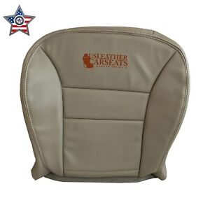 2008 2012 Ford Escape Hybrid Limited Driver Bottom Leather Seat Cover Stone Gray