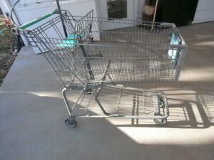 Fred Meyer Commercial Grocery Shopping Carts Baskets No Shipping
