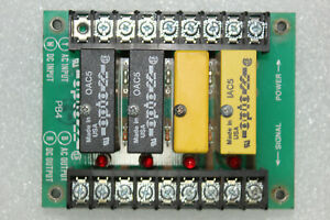 Opto 22 Pb4r 4 channel Solid State Relay Module W relays