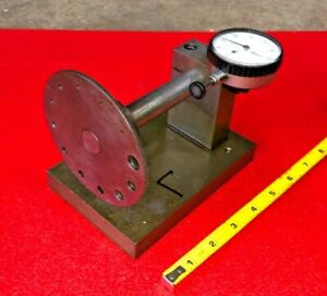 Protrusion Screw Length Gage W Mitutoyo Dial Indicator 001 No 2416f 10