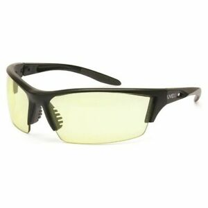 Uvex Instinct Safety Glasses With Low Ir Infrared Lens matte Black Frame S2829xp