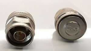 Rosenberger Type N Termination Cap 50 Ohm Two Count