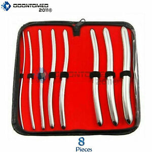 Dilator Set With Pouch Hegar Sounds Urethral Dilator Surgical Sounds Stainless