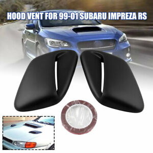 Hood Vent Induction Scoop For Subaru Impreza Rs Coupe 2 Or 4 door 1999 2001