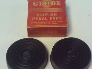 Vintage Replacement Slip On Pedal Pads 30 S 40 S Ford Lincoln Studebaker