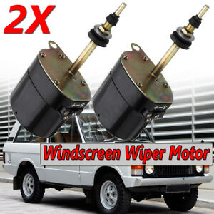2x Rtc3866 519900 Car Windshield Wiper Motor For Land Rover Series 1