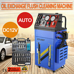 12v Auto Transmission Fluid Oil Exchanger Flush Cleaning Cleaner Machine