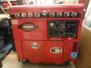 Tahoe Power Tpi 7000 Lxh Diesel Powered 60hz 12 240v 418cc Generator