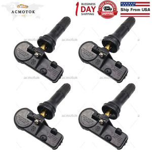 Set Of 4 Tpms Tire Pressure Monitoring System Sensor Fit For Chrysler Dodge Jeep