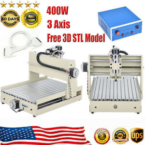 400w Cnc3040t 3 axis Tscrew Router Engraver Engraving Cutter Machine Woodworking
