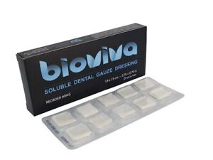 Bioviva Hemostatic Dressing Gauze 1 9 X 1 9cm 0 75 X 0 75 Pack Of 20