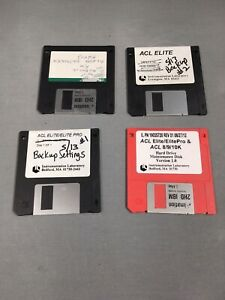 Instrumentation Laboratory Acl Elite Lot Software Diskettes Floppy Discs