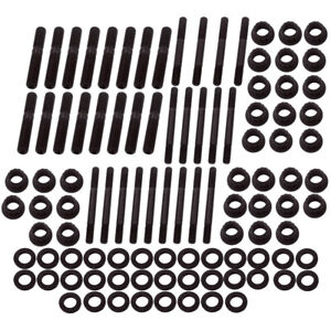 12 Point Head Stud Kit For Chevrolet Sbc 350 265 267 283 Engines Pce279 1001