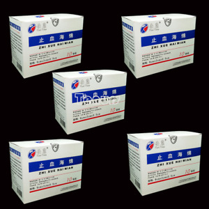 5x20pcs box Dental Hemostatic Sponge Oral Cleaning Interdental Gel Sponge