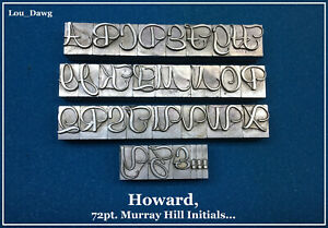 Howard Personalizer 72pt Murray Hill Initials Hot Foil Stamping Machine