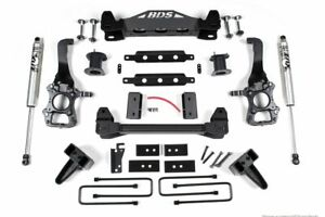Bds 6 Lift Kit With 4 Rear Lift Block Fox Shocks For 2015 2020 Ford F150 2wd