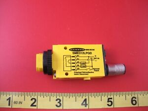 Banner Sme312lpqd Photoelectric Sensor 49771 10 30vdc Mini Beam Emitter New Nnb
