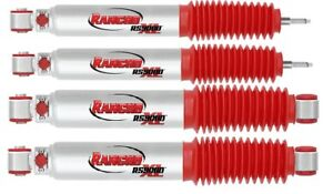 Rancho Rs9000xl Shocks 2 5 Front Level 2017 Ford F250 F350 Super Duty 4wd Set
