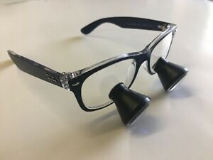 Ray ban 2 5x Loupes Ttl Custom Surgical Surgitel Orascoptic Wire Clips