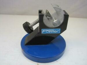 13731 Fowler Table Top Rotating Vice Good Used Condition