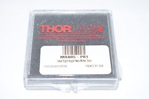 New Thorlabs Mra05 p01 Right angle Prism Mirror Protected Silver L 5 0 Mm