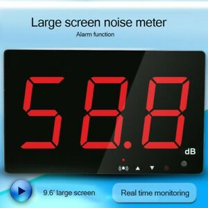 9 6 Led Sound Noise Level Meter 30 130db Data Storage Wall Mounted Dc5v Sw 525b