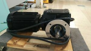Sew Eurodrive Gear Motor Model Saf67dre100lc4 Used 5 Hp Excellent Shape