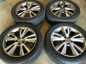 Set Of 4 Dodge Durango Or Jeep Grand Cherokee 20 Wheels And Tires 2011 Oem