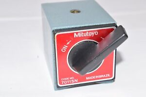 Mitutoyo Code No 7011sn Magnetic Base Base Only