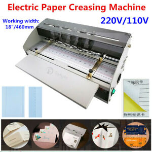 18 460mm Electric Perforator Paper Creasing Machine Scoring Creaser Ce