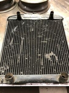 Vintage 1946 1951 Flathead V8 Ford Radiator Removed From 1948 Sedan Deluxe