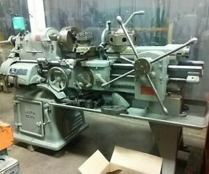 Nice Southbend Engine Lathe With Turret And Tooling 16 X 30 Model 2h