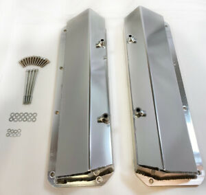 1968 01 Cleveland Anodized Aluminum Fabricated Ford 351c 351 400 Valve Covers