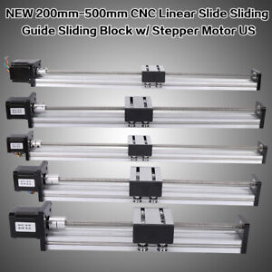 Linear Stage Actuator With 42 57stepper Motor For Diy Cnc Router Part 200 500mm