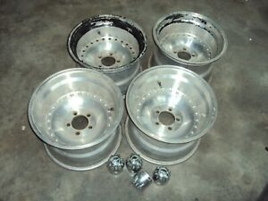 Centerline Style 15x10 Wheels Set 5 On 4 5 Ford Dodge