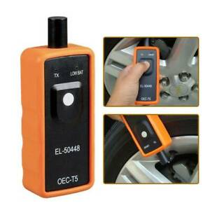 El 50448 Tpms Relearn Tool Auto Tire Pressure Monitor Reset Tool For Gm Vehicles