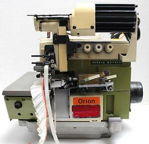 Rimoldi 627 3 thread Serger Metering Device Industrial Sewing Machine Head Only