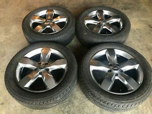 Set Of 4 Jeep Grand Cherokee 20 Wheels And Tires 2011 Oem