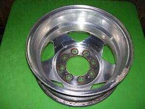 Dodge Ram 3500 Dually Rear Wheel Rim 16 X 6 Aluminum Factory Alcoa 82202875 c