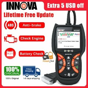 Innova 6030p Obdii Auto Scanner Abs Anti brake Oil Battery Car Diagnostic Tool