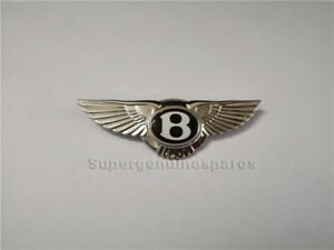1 X Bentley Emblem Badge Steering Wheel Airbag 91 1mmx29 4mm