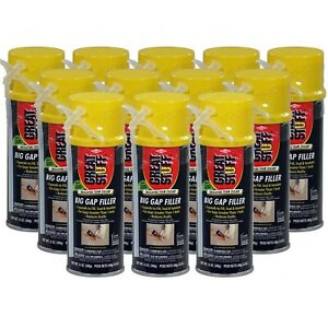 Great Stuff Big Gap Filler 12 Oz Cans Full Case 12 Cans
