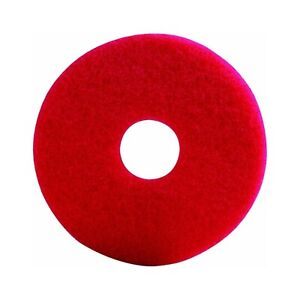 Lundmark Red 17 inch Buffing Floor Pad Up To 800 Rpm Tkl17r