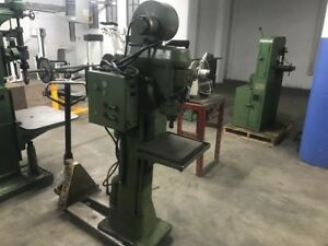 Commercial 3 Phase Grob Industrial Drill Press W Snow Tapping Head