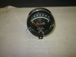 Vintage Used Tachometer 1960 s 70 s Buick Chevy Olds Pontiac Ford Dodge Ratrod